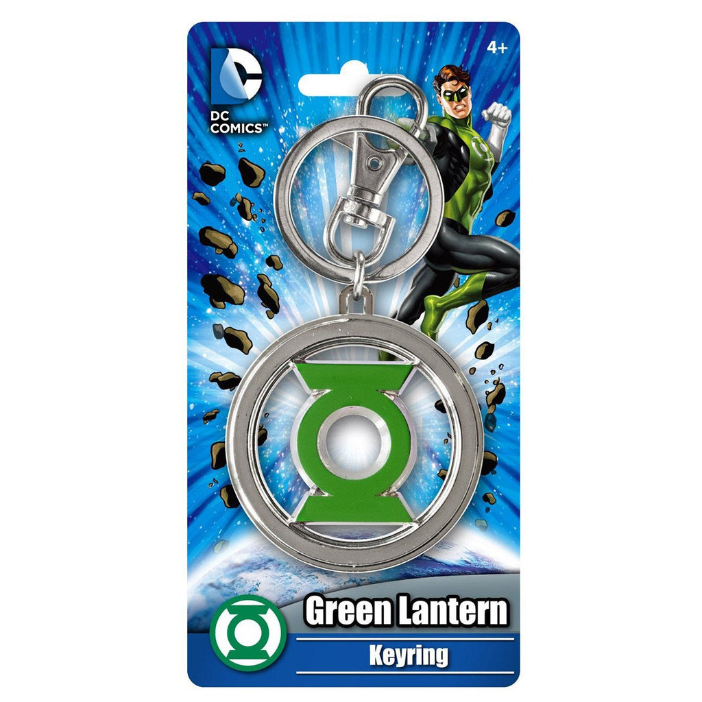 DC Comics Green Lantern Colored Pewter Keychain - Radar Toys