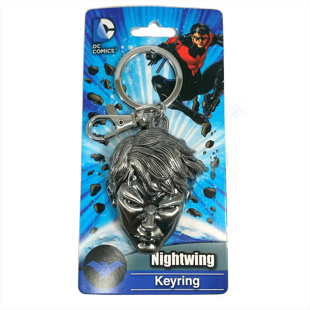 DC Comics Nightwing Head Keychain - Radar Toys