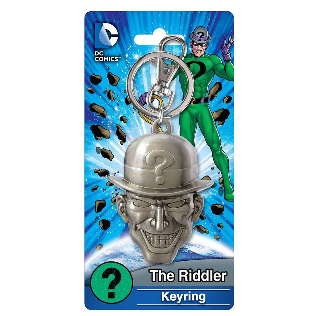 DC Comics The Riddler Head Keychain - Radar Toys