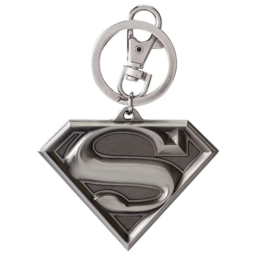 DC Superman Logo Metal Keychain