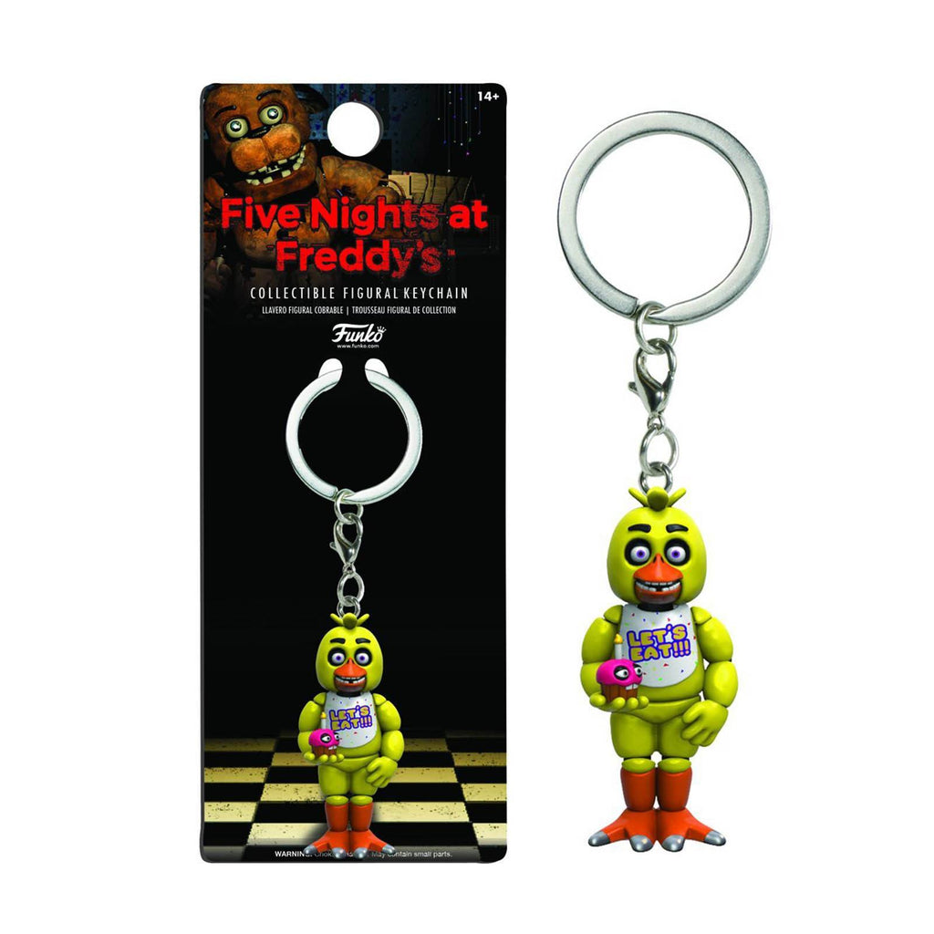 Funko Five Nights At Freddy's Chica Figure Keychain - Radar Toys