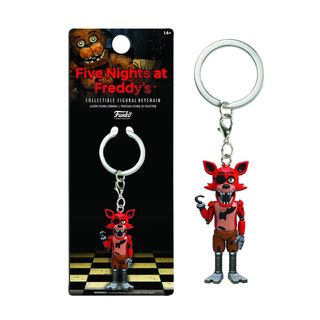 Funko Five Nights At Freddy's Foxy Figure Keychain