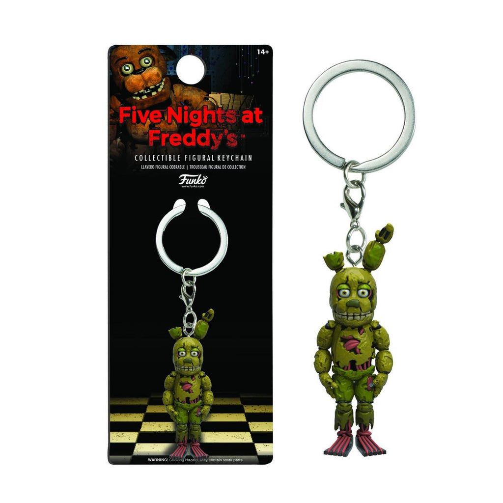 Funko Five Nights At Freddy's Springtrap Figure Keychain