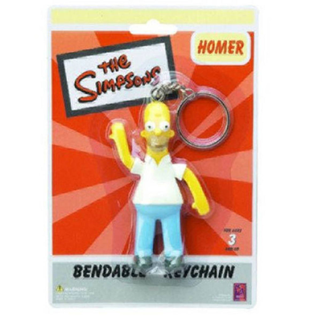 Homer Bendable Keychain Figure - Radar Toys