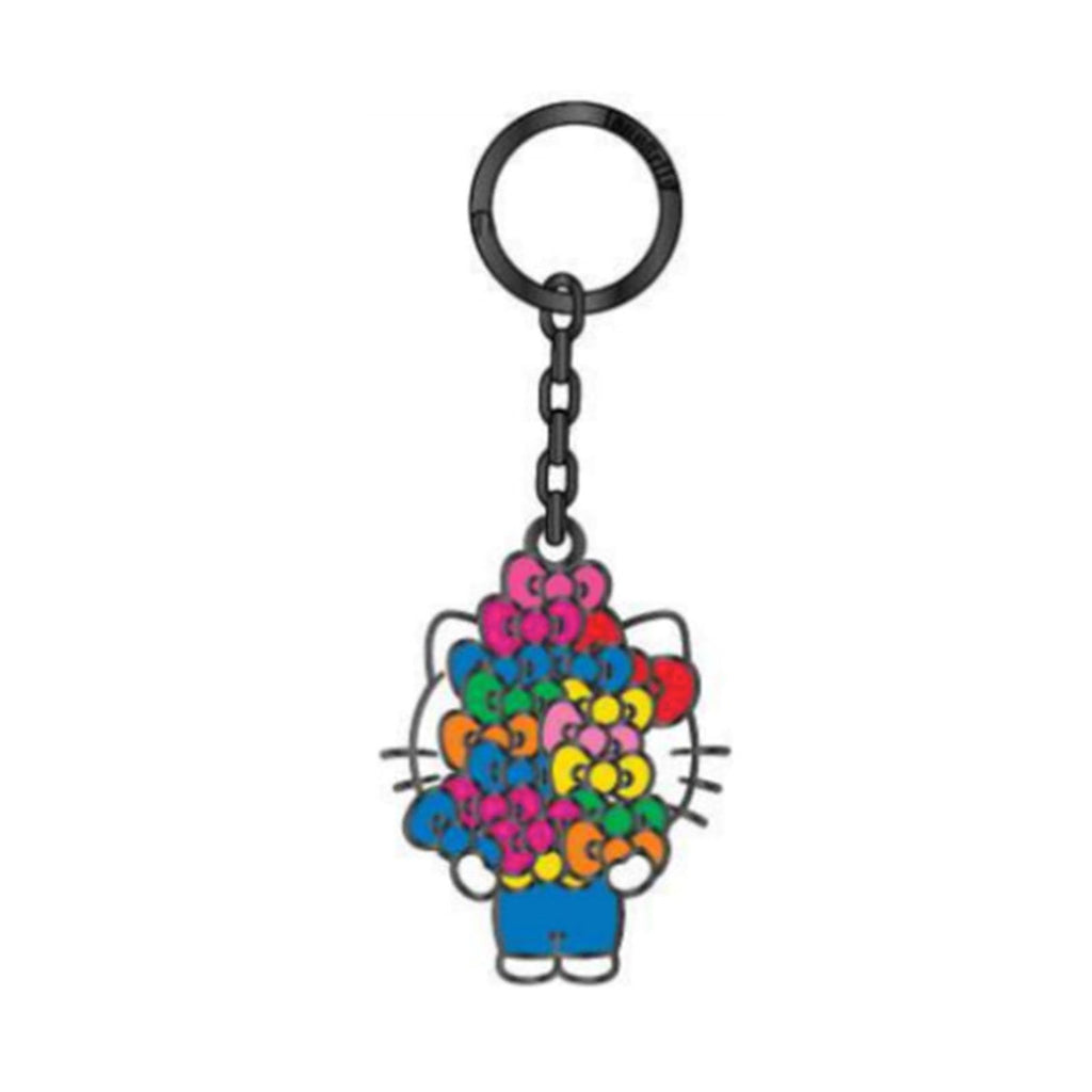 Loungefly Hello Kitty Bows Metal Keychain