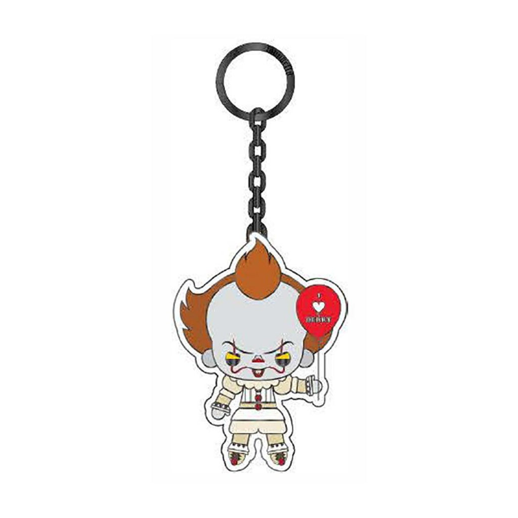 Loungefly IT Pennywise Balloon 2.5 Inch Enamel Keychain