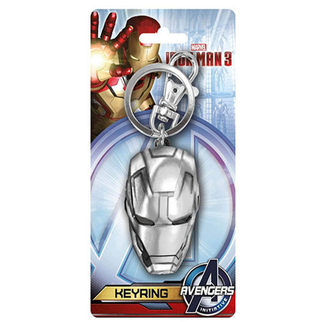Marvel Avengers Iron Man 3 Mask Keychain - Radar Toys
