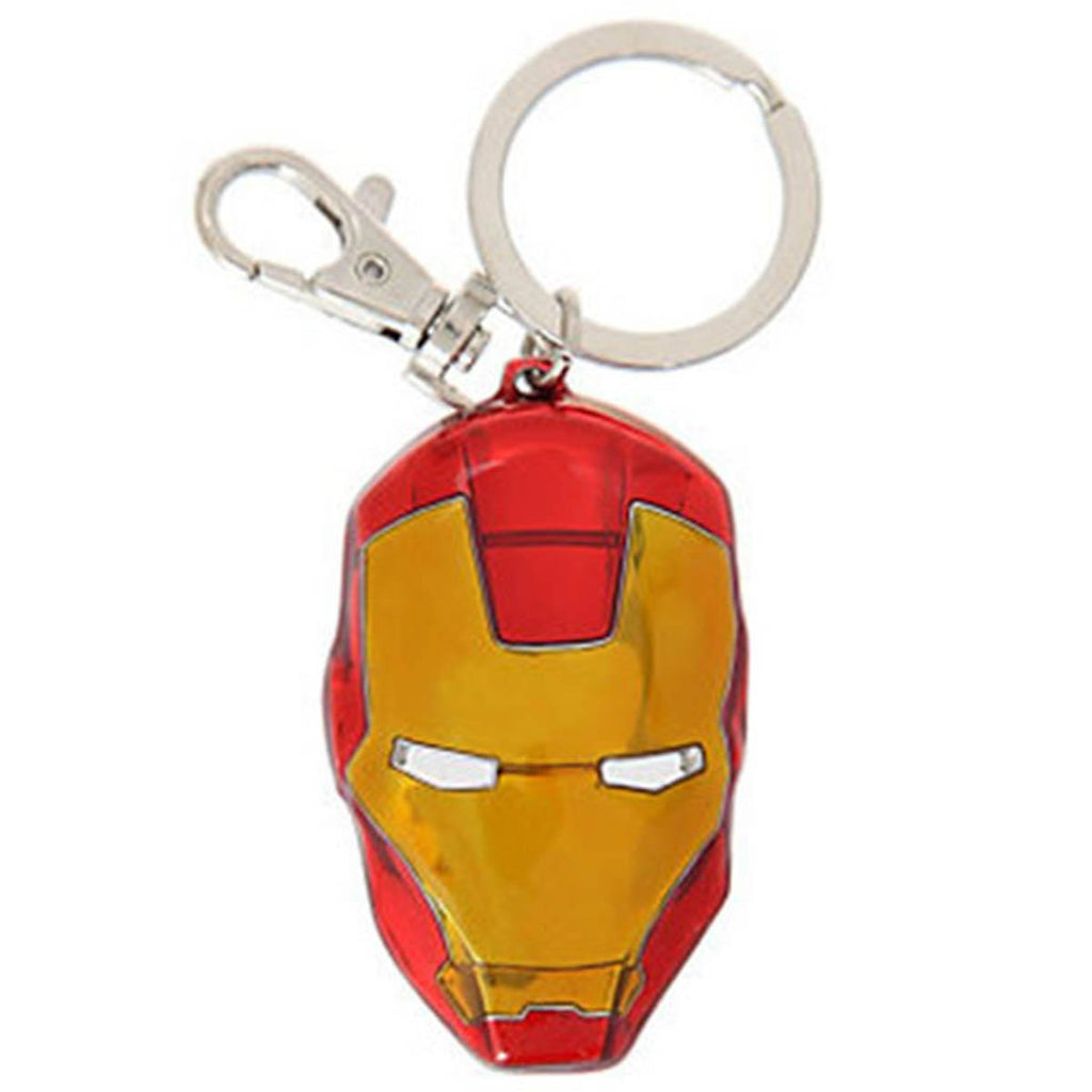 Marvel Avengers Iron Man Classic Colored Mask Keychain - Radar Toys