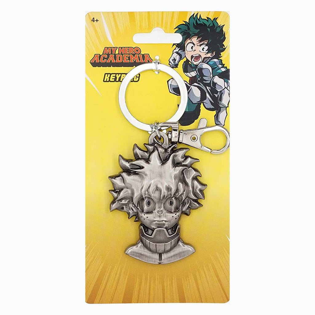 My Hero Academia Deku Head Metal Keychain