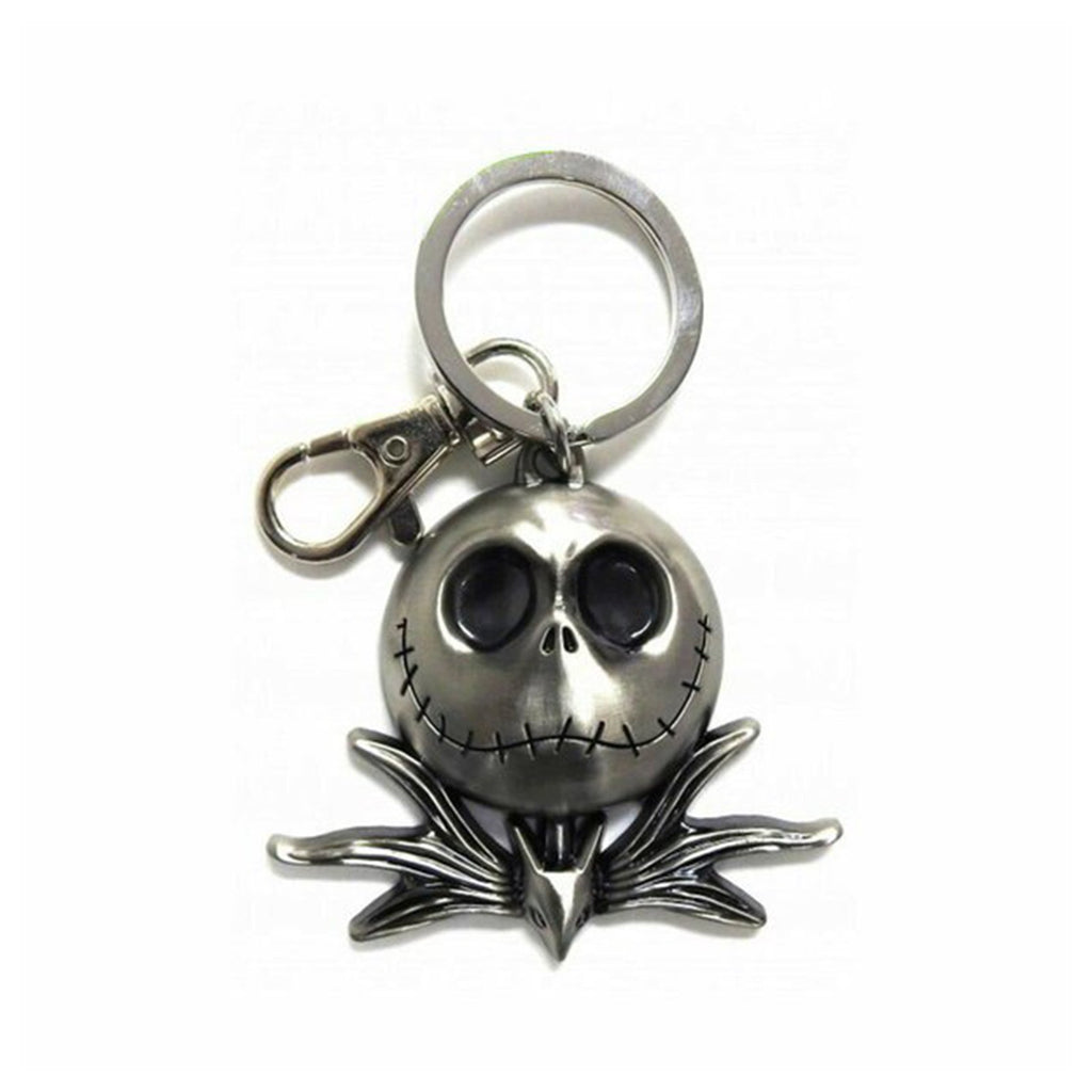 Nightmare Before Christmas Jack Head Metal Keychain