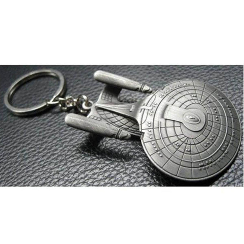 Star Trek Next Generation Enterprise D Keychain
