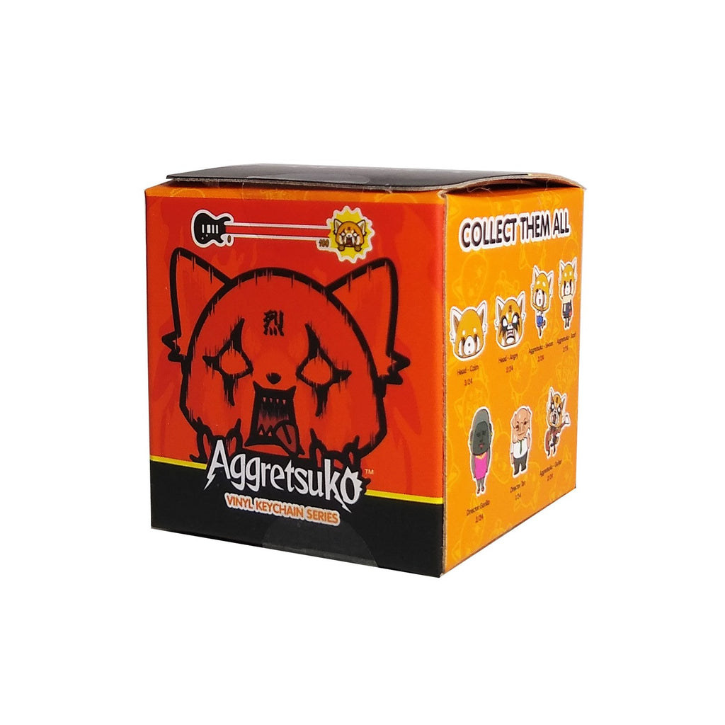 Kidrobot Aggretsuko Blind Box Mini Figure Keychain