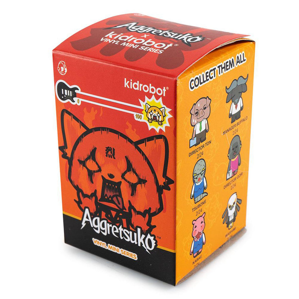 Kidrobot Aggretsuko Series Blind Box Mini Figure