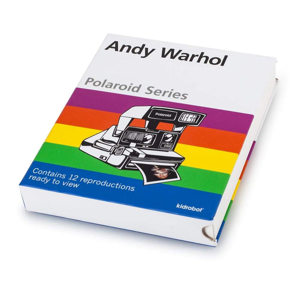 Kidrobot Andy Warhol Polaroid Series 1 Set
