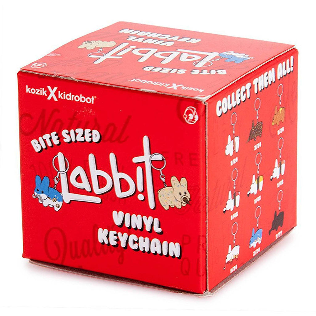 Kidrobot Bite Sized Labbit Blind Box Vinyl Figure Keychain