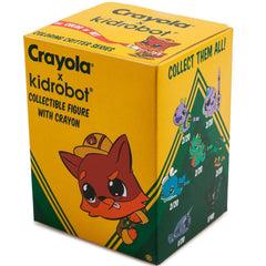 Kidrobot Coloring Critter Series Blind Box Vinyl Figure