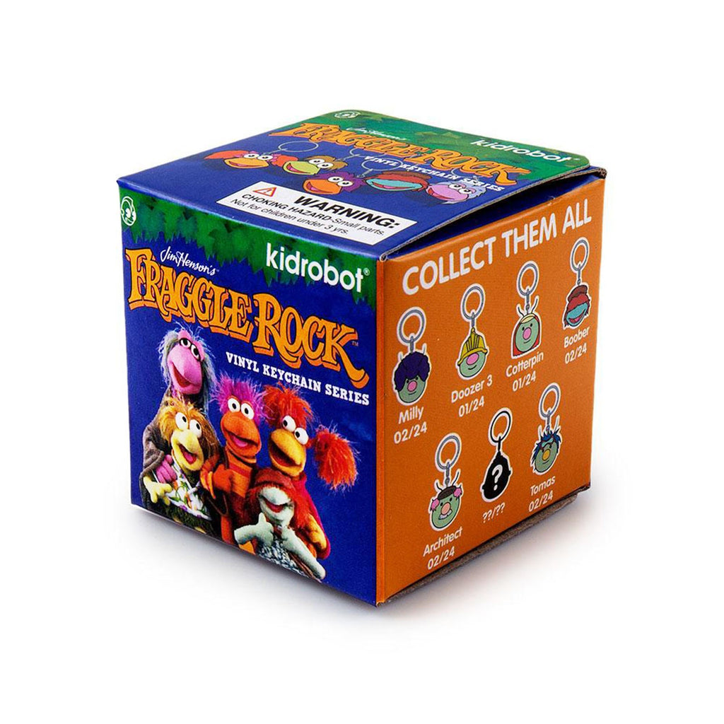 Kidrobot Fraggle Rock Series Blind Box Mini Figure Keychain