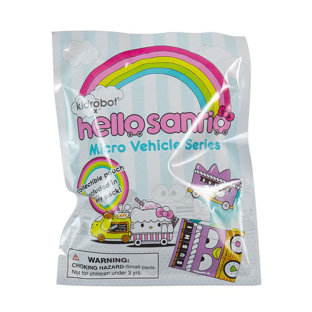 Kidrobot Hello Kitty Micro Vehicle Series Blind Bag Mini Figure