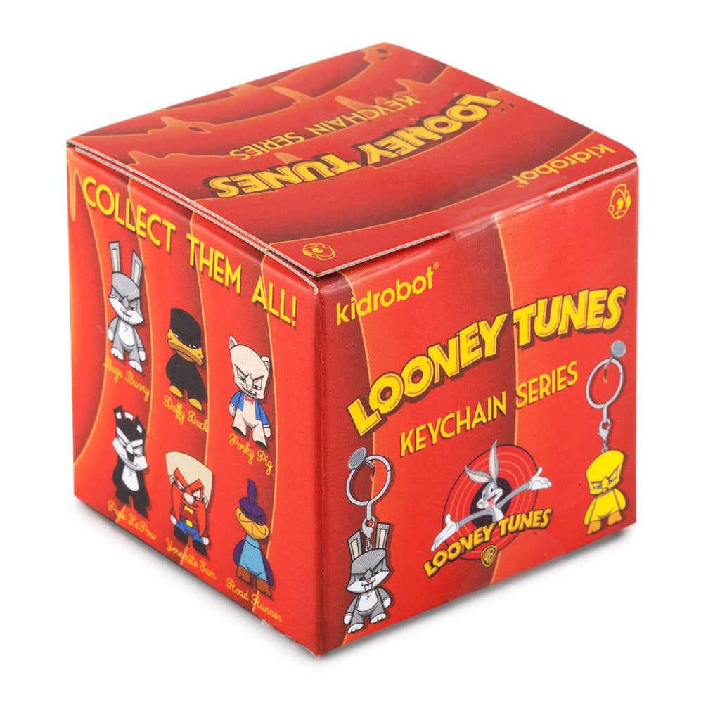 Kidrobot Looney Tunes Mini Series Blind Box Keychain Figure