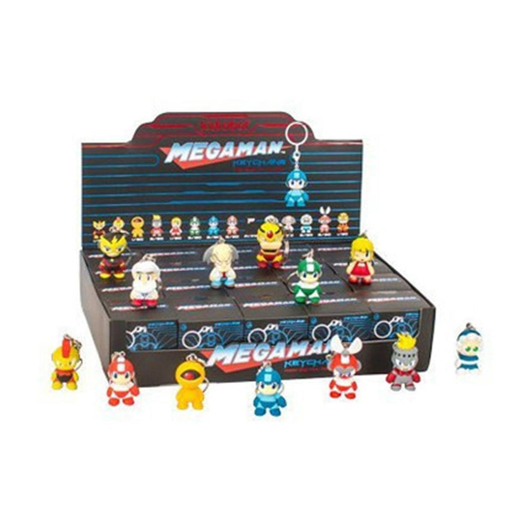 Kidrobot Megaman Mini Series Blind Box Vinyl Keychain