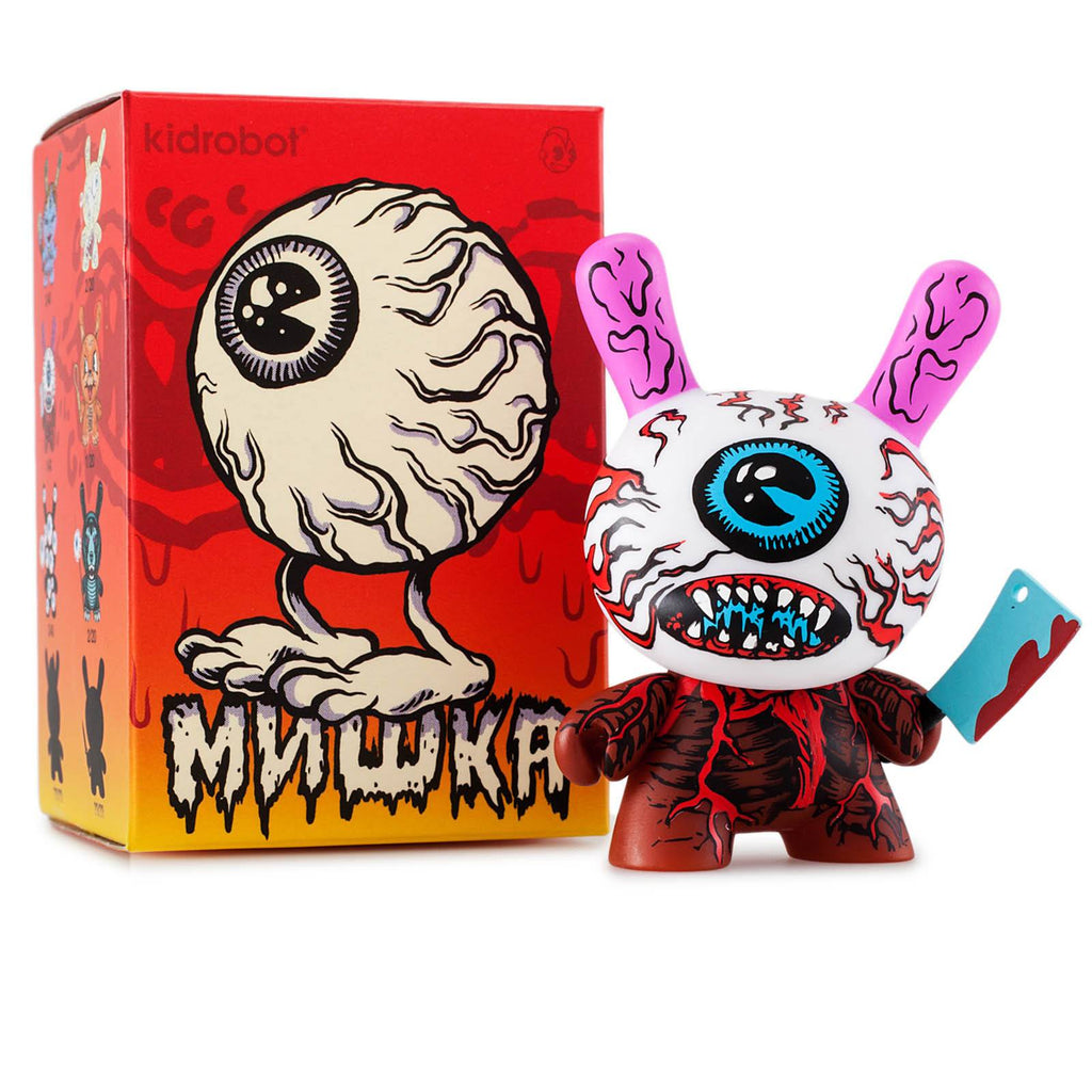 Kidrobot Mishka Dunny Mini Series Blind Box Vinyl Figure