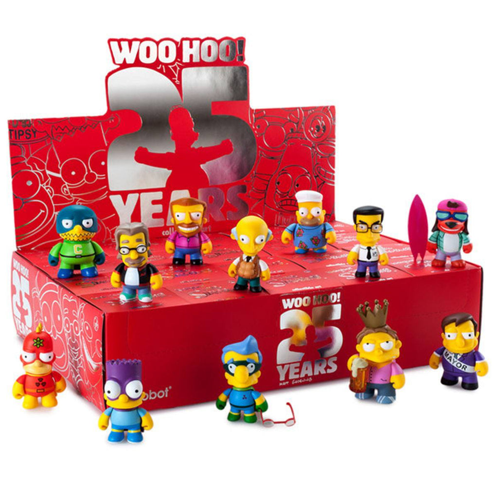 Kidrobot Simpsons 25th Anniversary Blind Box Figure