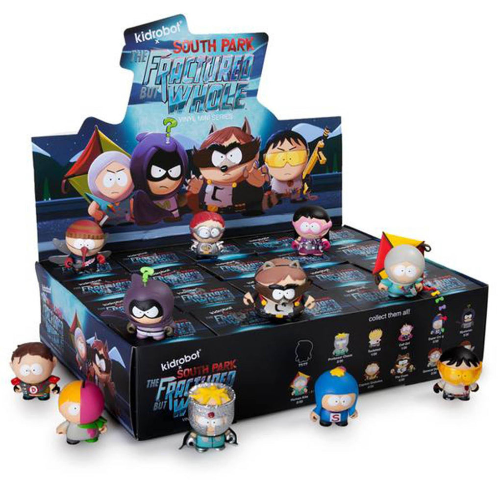 Kidrobot South Park Fractured But Whole Blind Box Vinyl Figure
