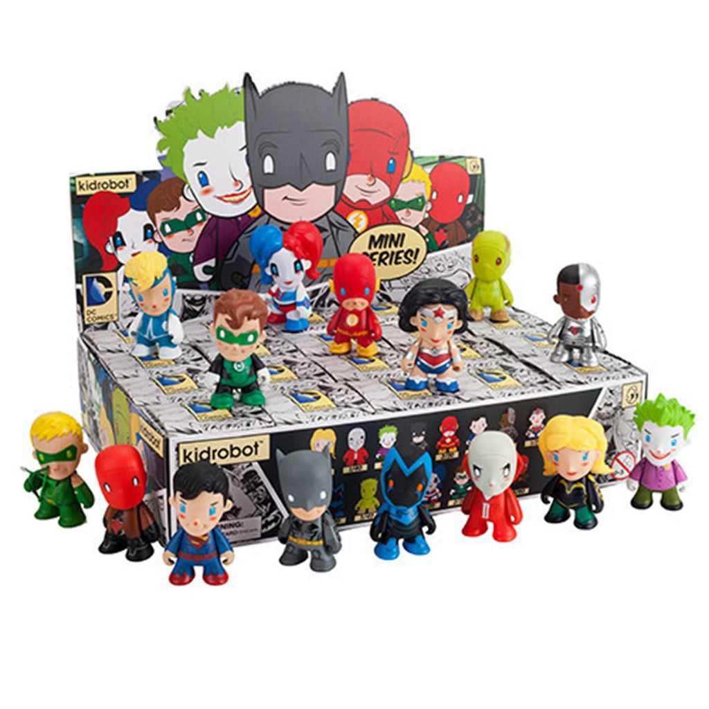 Kidrobot DC Comics Mini Series Blind Box Vinyl Figure