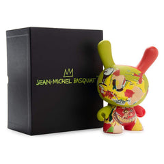 Kidrobot Limited Edition Figures - Kidrobot Basquiat Masterpiece Wine Of Babylon 8 Inch Dunny Figure