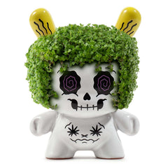 Kidrobot Limited Edition Figures - Kidrobot Buzzkill 5 Inch White Dunny Figure