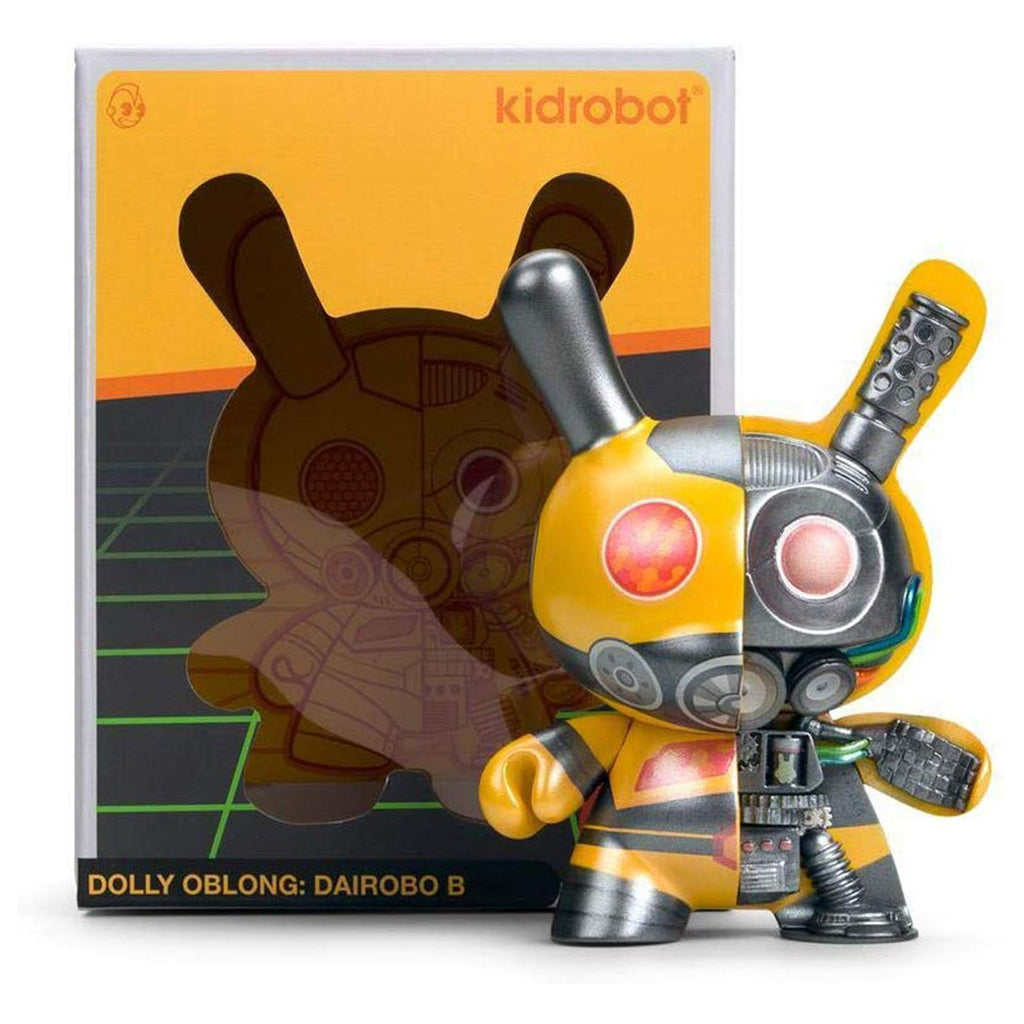 Kidrobot Dolly Oblong 5 Inch Diarobo Bee Dunny Figure
