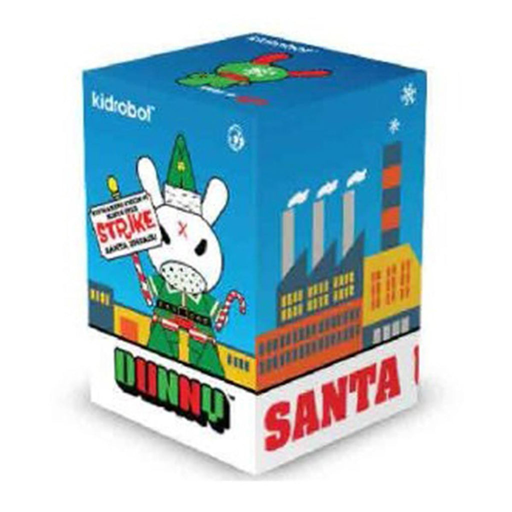 Kidrobot Dunny Holiday Elf Vinyl Figure