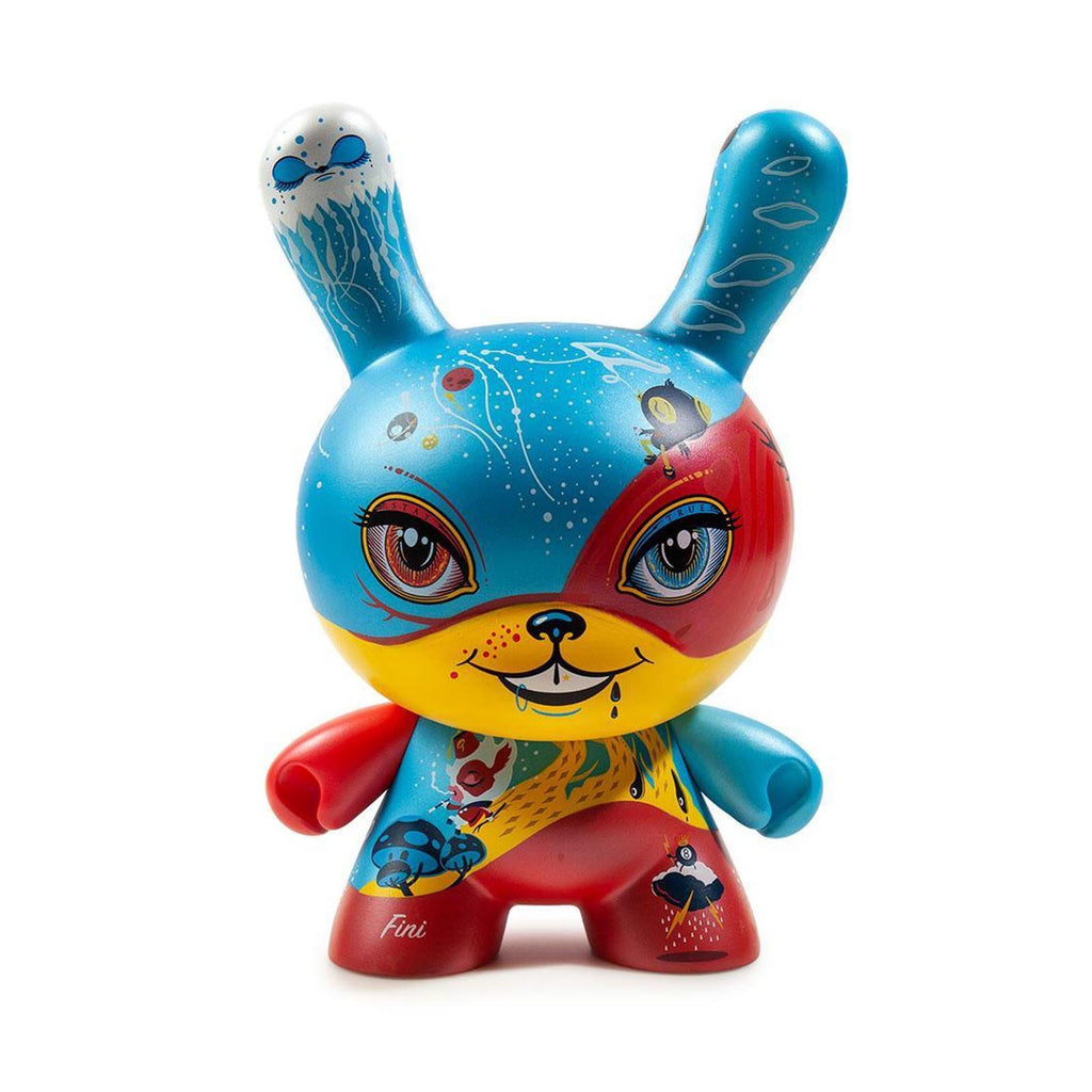 Kidrobot Limited Edition Figures - Kidrobot Good 4 Nothing 8 Inch Dunny Figure