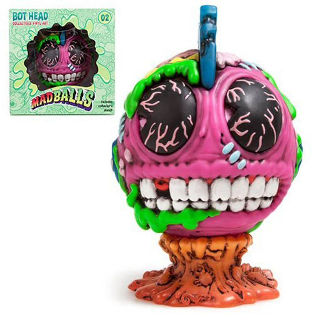 Kidrobot Mad Balls Bot Head Medium Vinyl Figure