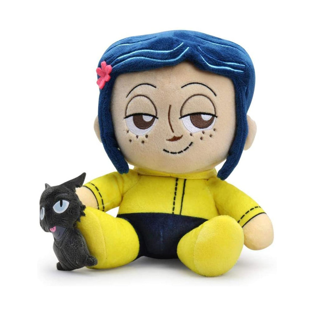 Kidrobot Coraline Phunny Coraline And The Cat Plush Figure
