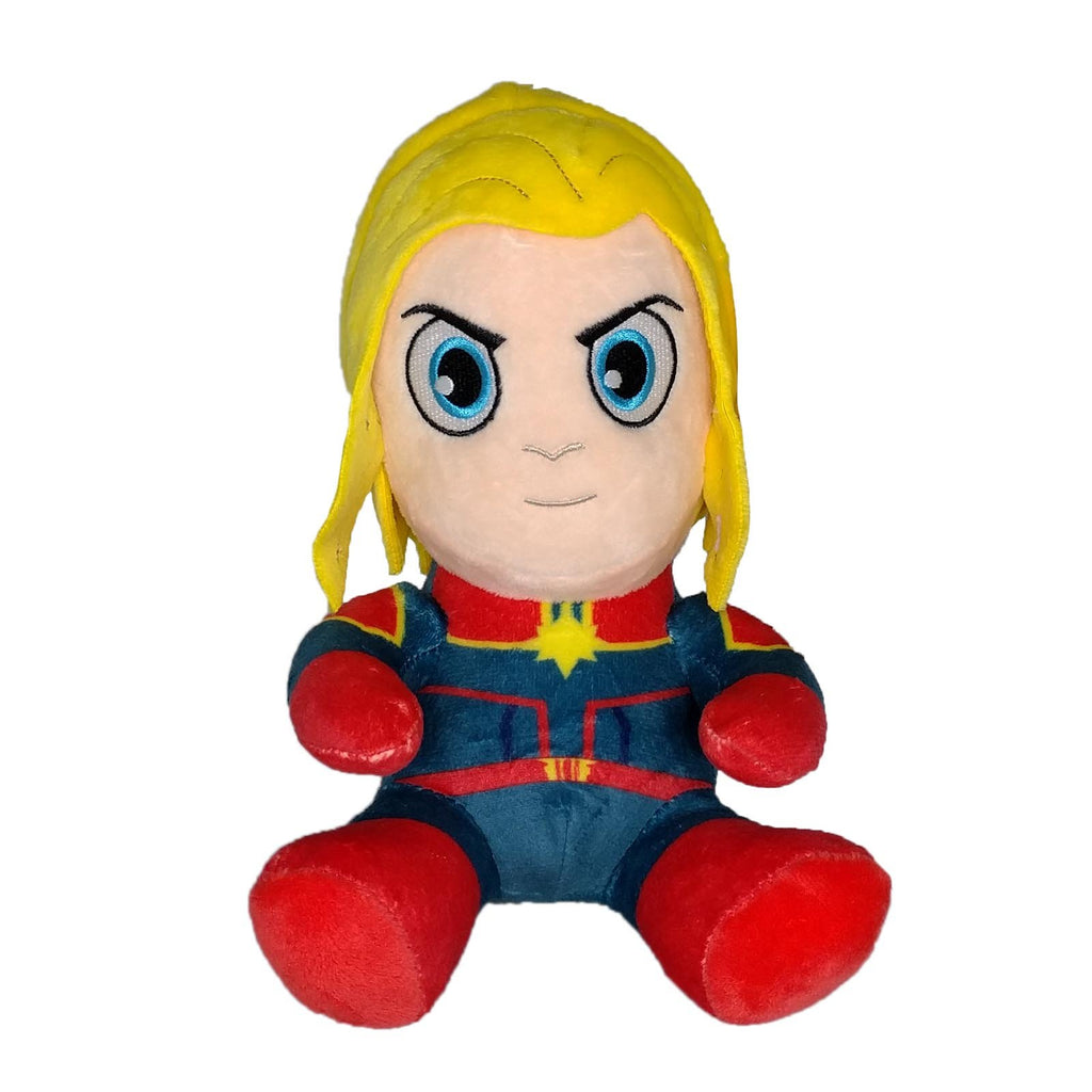 Kidrobot Marvel Phunny Captain Marvel 8 Inch Plush Figure