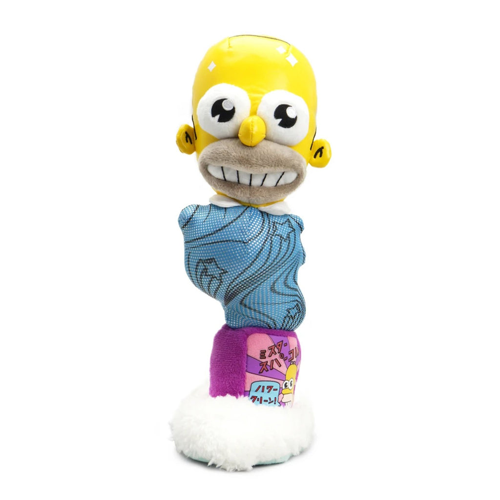 Kidrobot Simpsons Mr. Sparkle 11 Inch Plush Figure
