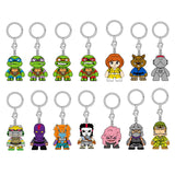 Kidrobot Teenage Mutant Ninja Turtles Series 2 Blind Box Keychain Figure - Radar Toys