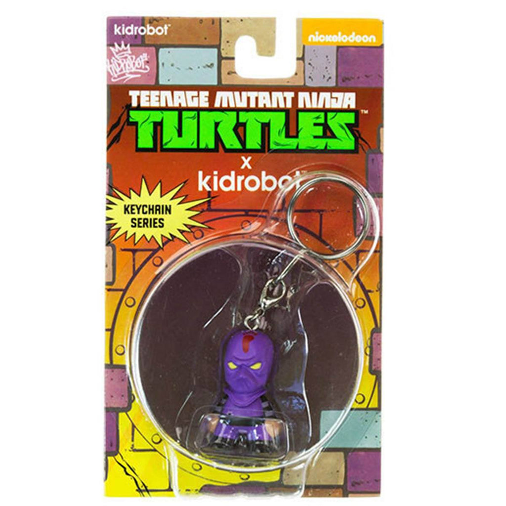 Kidrobot Teenage Mutant Ninja Turtles Foot Soldier Mini Keychain Figure