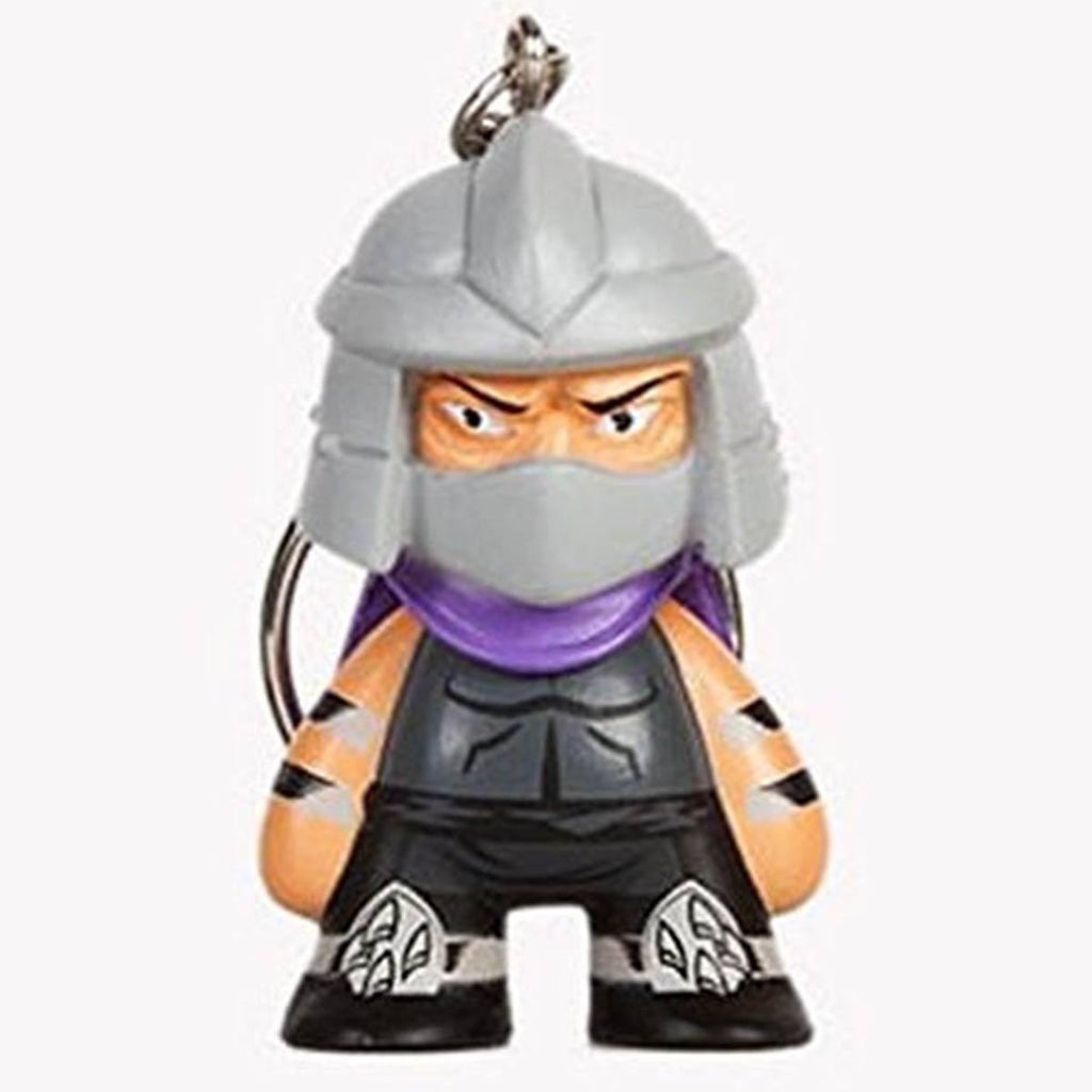 Kidrobot Teenage Mutant Ninja Turtles Shredder Mini Keychain Figure