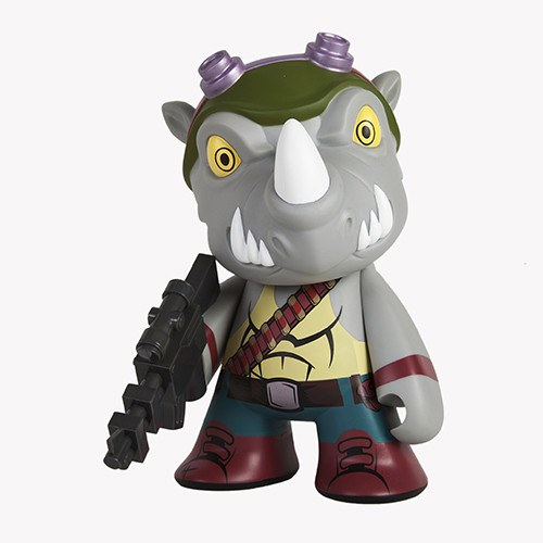Kidrobot Teenage Muntant Ninja Turtles Medium Rocksteady Vinyl Figure
