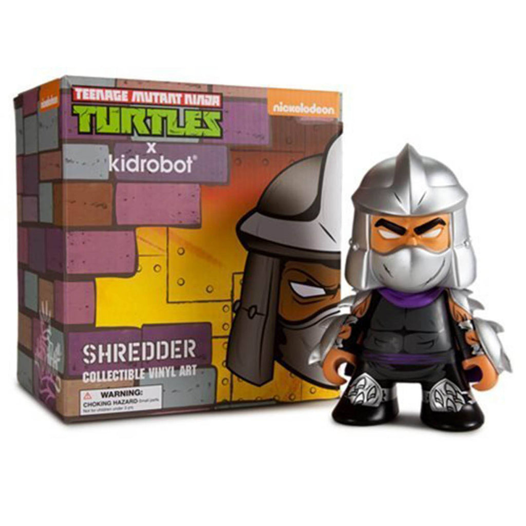 Kidrobot Teenage Mutant Ninja Turtles Medium Shredder Vinyl Figure