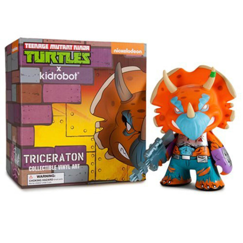 Kidrobot Teenage Mutant Ninja Turtles Medium Triceraton Vinyl Figure