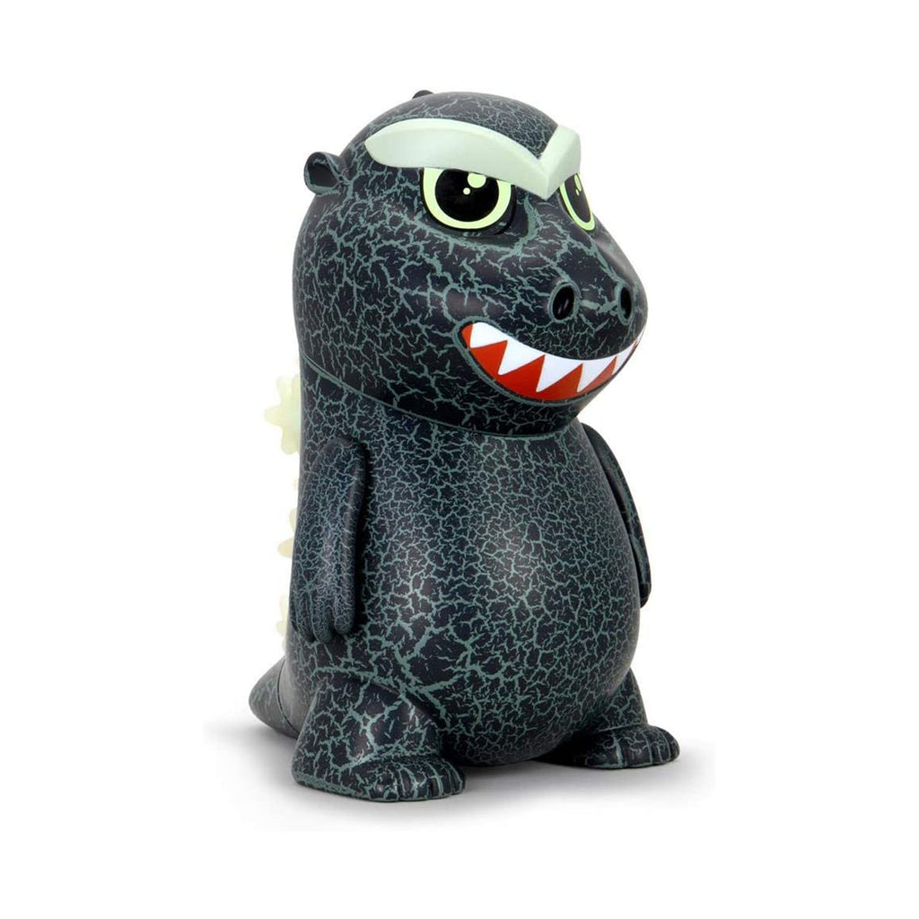 Kidrobot Godzilla 1954 Crackle Edition Glow In The Dark Vinyl Figure