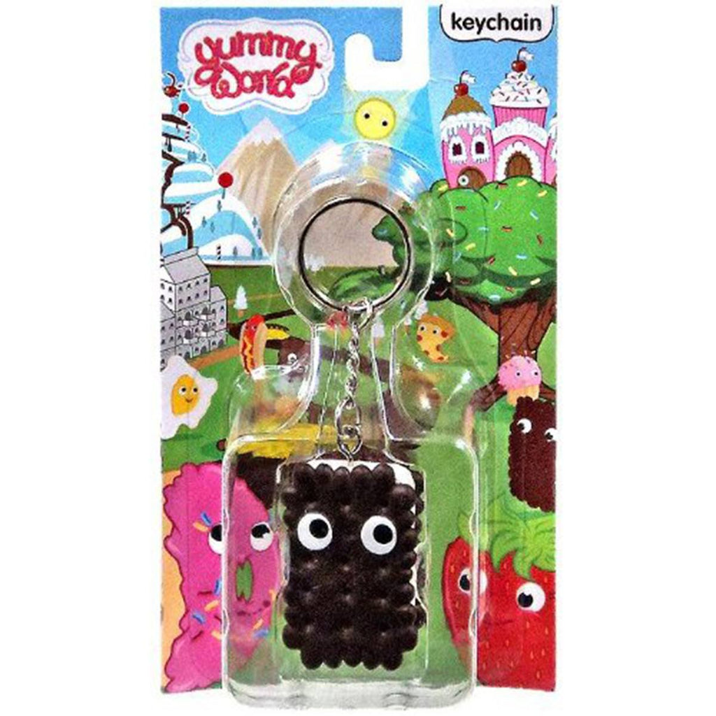 Kidrobot Yummy World Ice Cream Sandwich Vinyl Figure Keychain