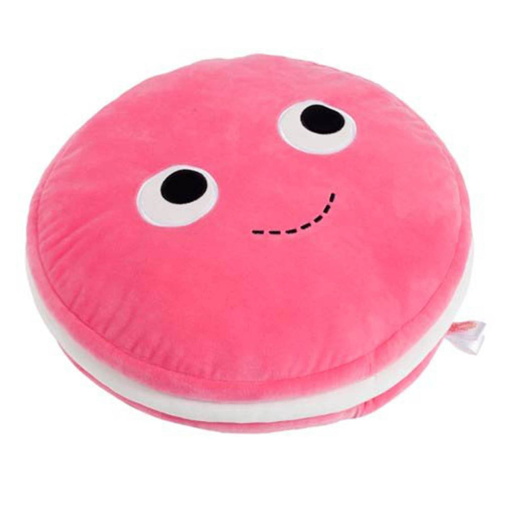 Kidrobot Yummy World Large Pink Macaroon Plush - Radar Toys