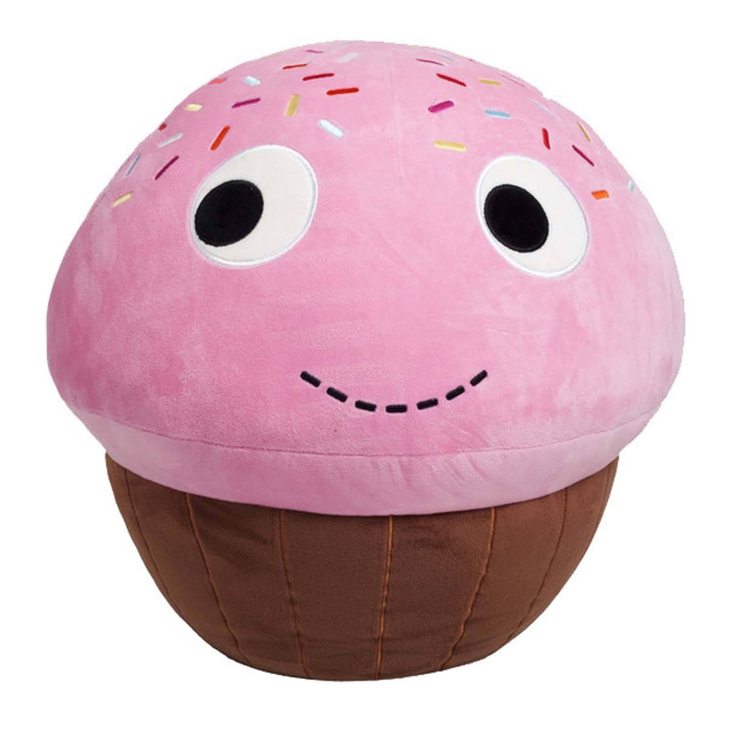 Kidrobot Yummy World Sprinkles Pink Cupcake 8 Inch Plush