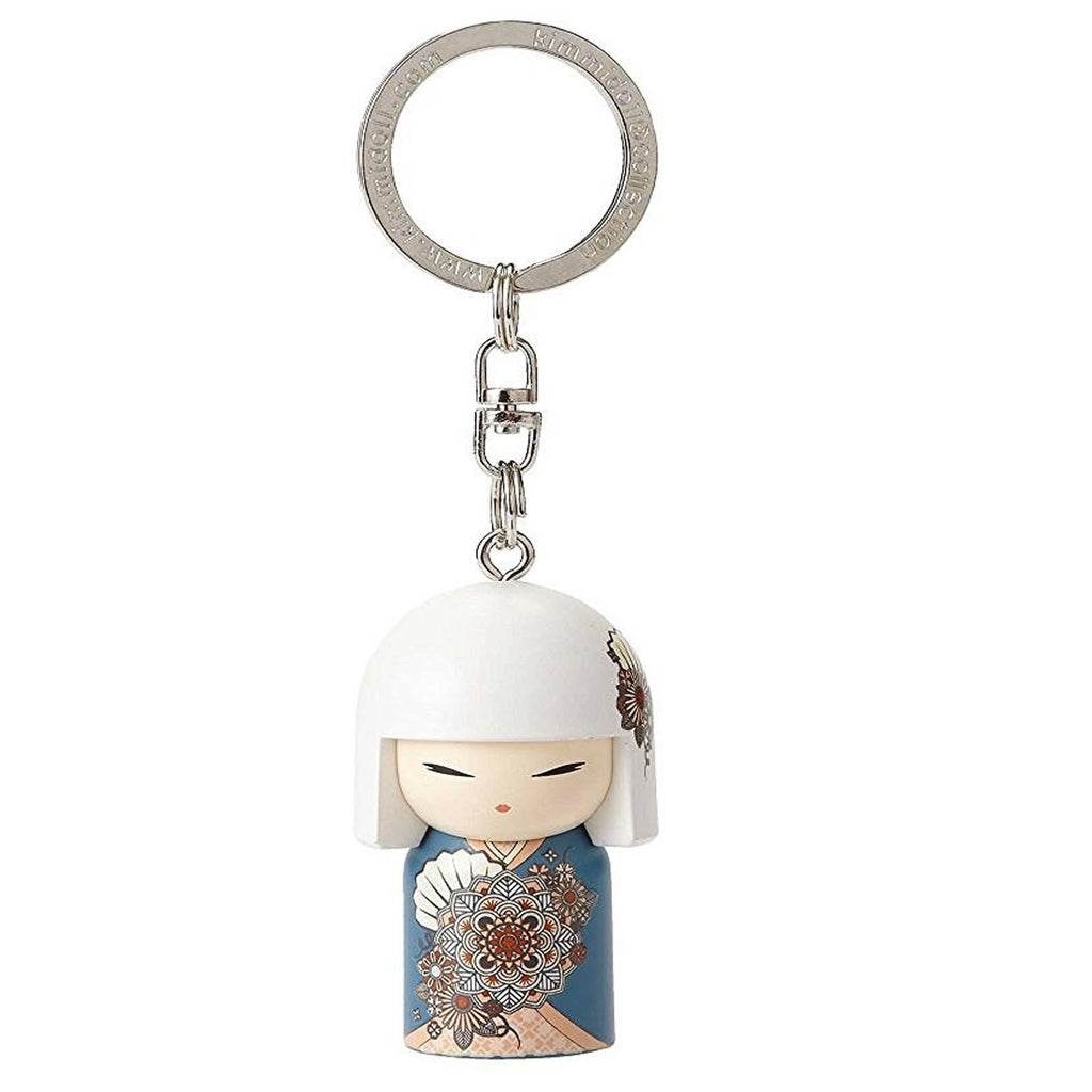 Kimmidoll Kioko Happiness Japanese Doll Keychain Figure