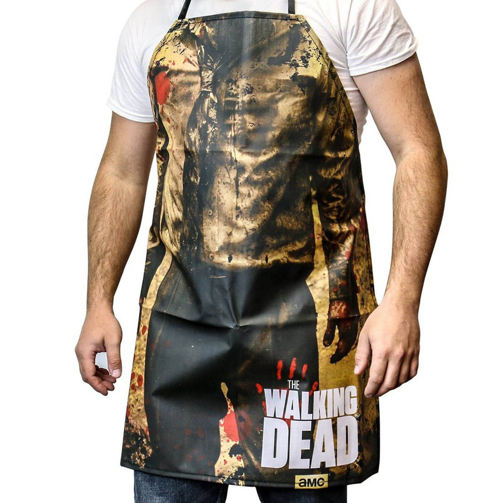 The Walking Dead Apron Walker Print Zombie Torso