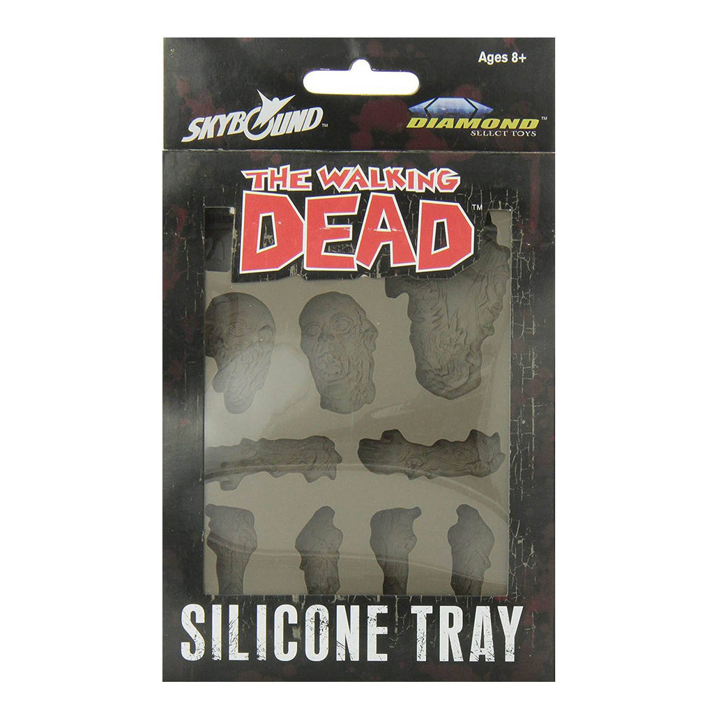 Walking Dead Zombies Silicone Ice Cube Tray